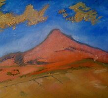 Cezanne Copy in Oils by Julie Lunan