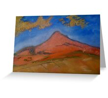 Cezanne Copy in Oils Greeting Card