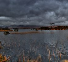Rannoch Moor: Pending Rain by Mark White