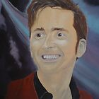 David Tennant - The 10th Doctor by John Woodruff