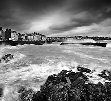 Rough Sea at Bangor by James Coard