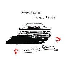 Supernatural - Impala - Saving People Photographic Print