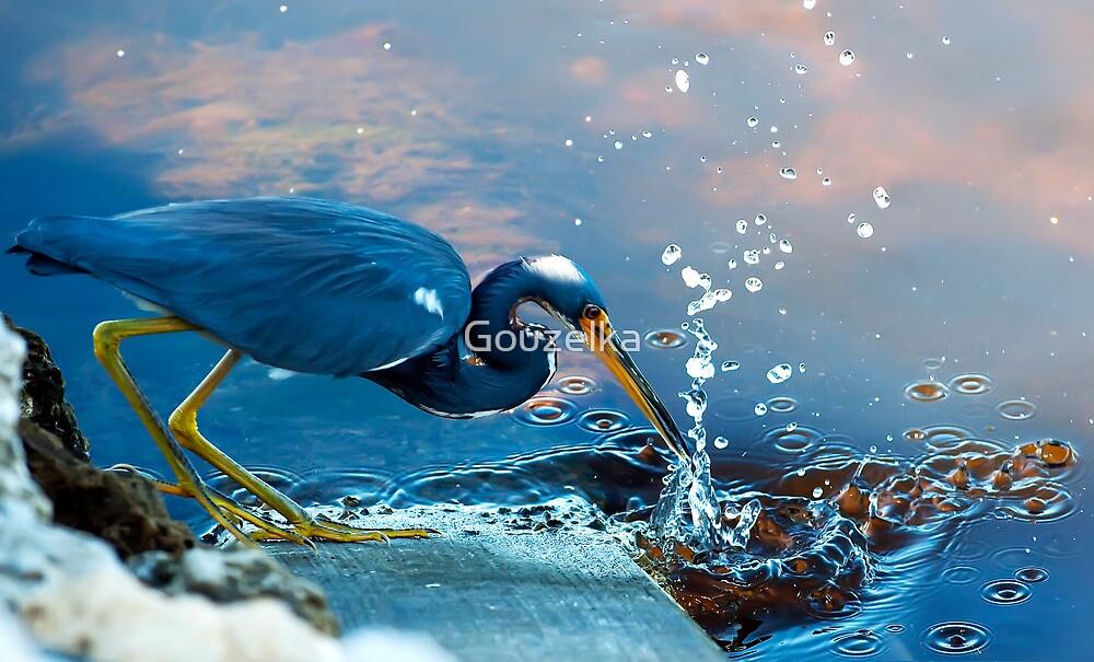 Fishing by Gouzelka