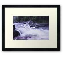 Waterfall . Trondelag . Norway . by Brown Sugar with WOOOOOws !!! thanks !!!  View (248) favorited by (1) thx ! OK! Framed Print