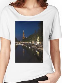Amsterdam Blue Hour Women's Relaxed Fit T-Shirt