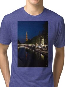 Amsterdam Blue Hour Tri-blend T-Shirt