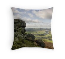 Baslow Edge: The Peak District Throw Pillow