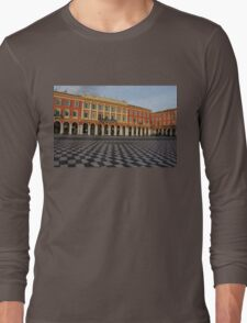 Nice, France, French Riviera - the Cheerful Colors of Place Massena  Long Sleeve T-Shirt