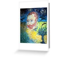 Vincent...you left us too soon! Greeting Card