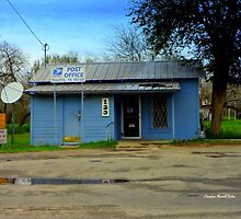 Texas Post Office by Charmiene Maxwell-Batten