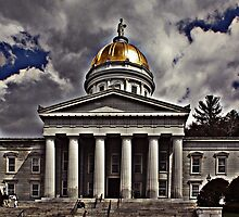 Vermont State House by Karl Baitz