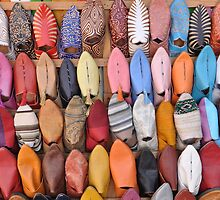 Slippers from the souk by Peter Gostelow