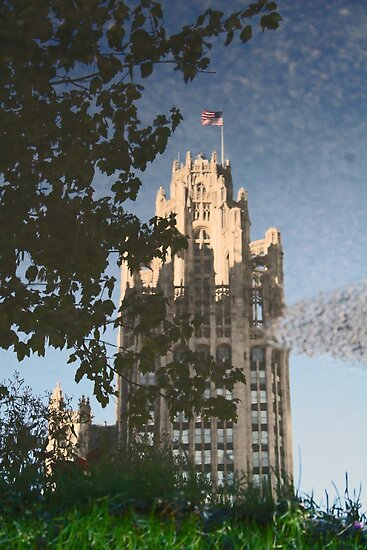 Chicago Reflections II by Jeanne Horak-Druiff