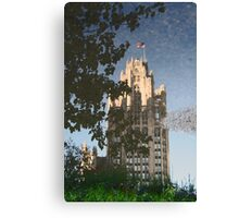 Chicago Reflections II Canvas Print