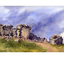 Cow and Calf Rocks, Ilkley Moor Photographic Print