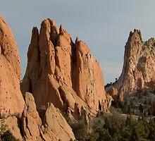 Garden of the Gods - Colorado Springs by Joy King