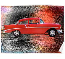 '56 Metals - '56 Chevy Poster