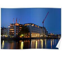 HDR Geneva 8th Nov 2009  -  1 Reflections in the Rhone Poster