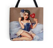 Girl 24 | (Your best Gil Elvgren) Pinup Tote Bag