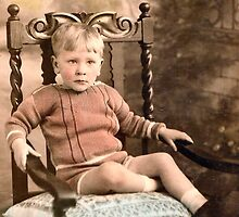 1930 My eldest cousin by Woodie