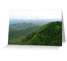 an unbelievable India landscape Greeting Card