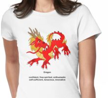 Chinese Zodiac Tee--Year of the Dragon Womens Fitted T-Shirt