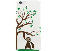Happy Sloth iPhone Case/Skin