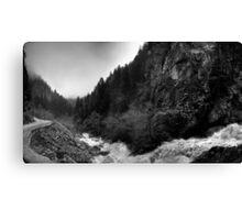 Big river  Canvas Print