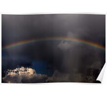 Sometimes a Rainbow Follows the Storm Poster