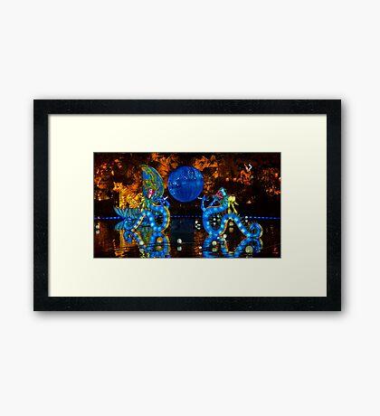 The Magic Dragons Framed Print