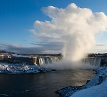 Niagara Falls Makes Its Own Weather by Georgia Mizuleva