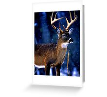 The Light Shining Down Greeting Card