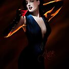 Dita von Teese by jmatteliano