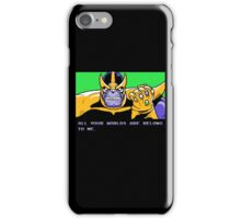 All Your Worlds Are Belong To Me iPhone Case/Skin