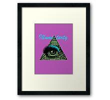 Illumi-tarty Framed Print