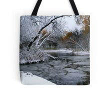 Winter Wonderland... Tote Bag