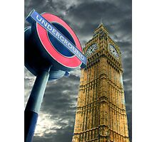 The Tube - Westminster  Photographic Print