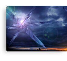 Crystal Skies Canvas Print