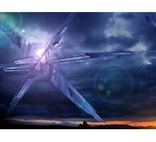 Crystal Skies Photographic Print