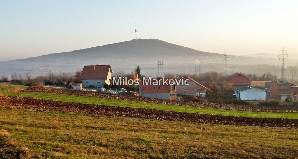 Mt. Avala by Milos Markovic