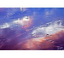 wet sand... Photographic Print