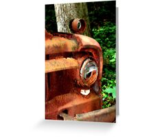 1952 Ford F500 Front Bumper Greeting Card
