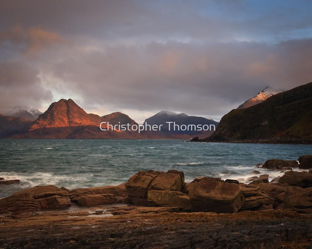 Elgol Winter Sunrise by Christopher Thomson