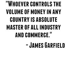 James Garfield Quote by GiftIdea