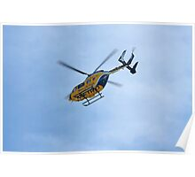 Life Flight Helicopter Poster