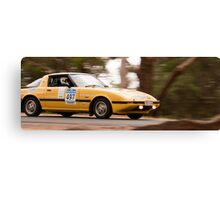 Mazda RX7 Classic Adelaide Car Rally Canvas Print