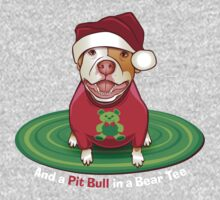 And a Pit Bull in a Bear Tee One Piece - Long Sleeve