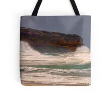 Angry ocean vents it's wrath Tote Bag