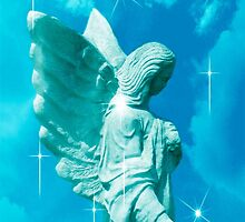 I Will Guide You Angel by Marie Sharp