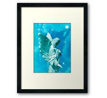 I Will Guide You Angel Framed Print